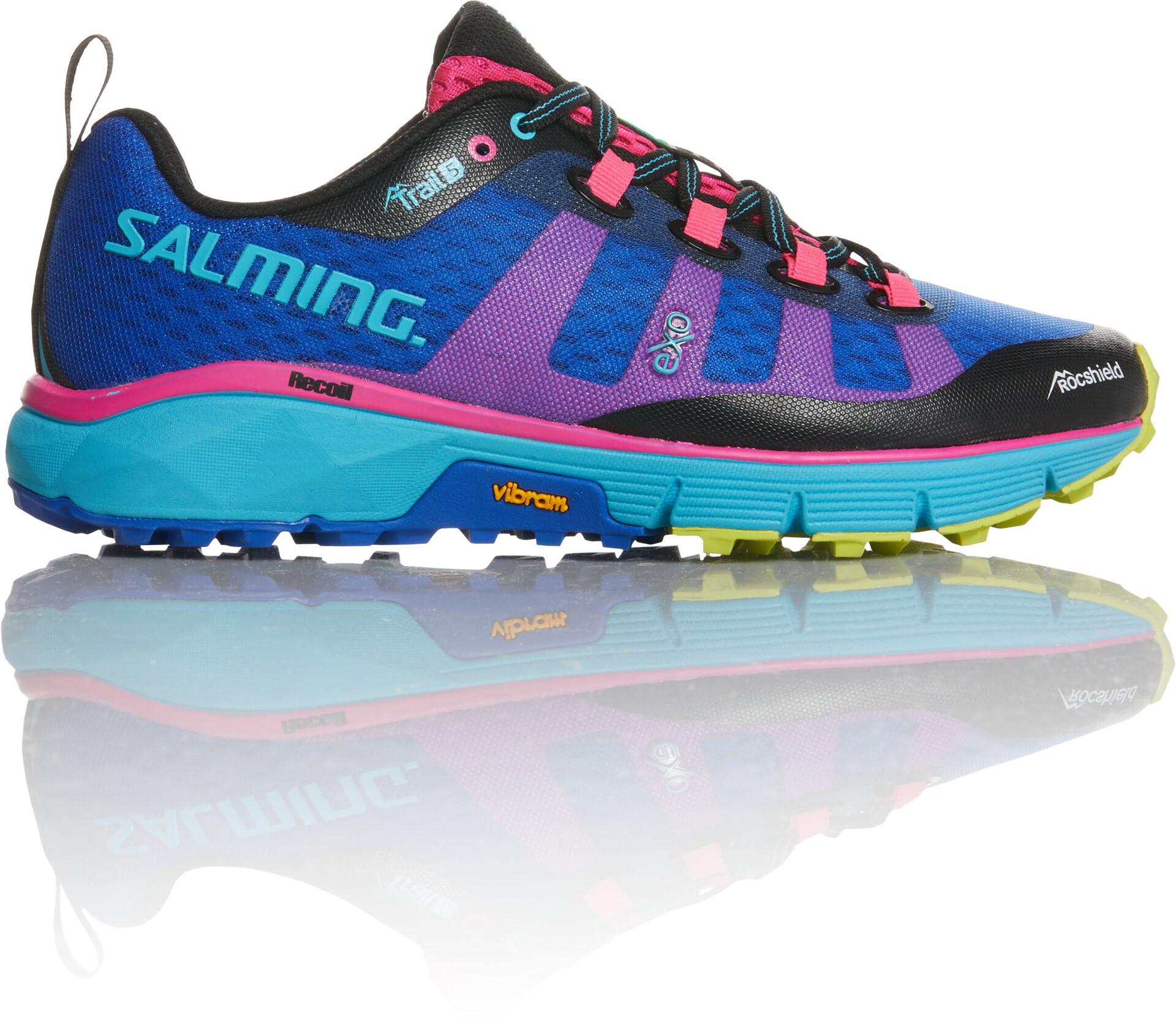 Femme Trail rosebleu running 5 sur CAMPZ Chaussures Salming wIXdq7I